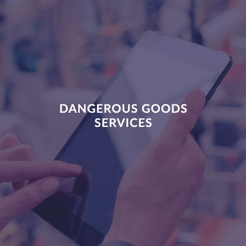 DANGEROUS GOODS SERVICES